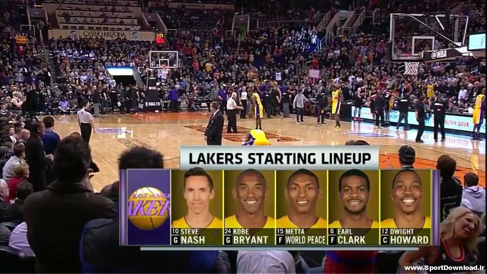 Los Angeles Lakers vs Phoenix Suns