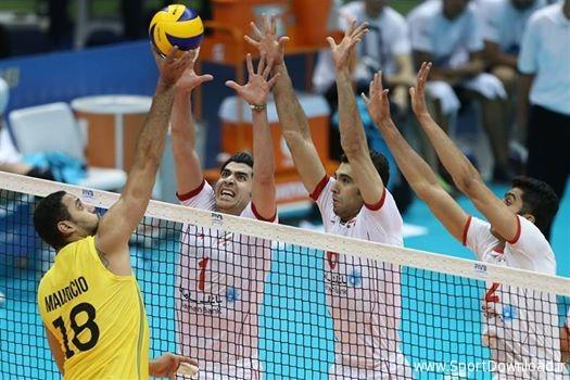 نتیجه تصویری برای ساعت و نتیجه بازی والیبال | روسیه ایران | 28 خرداد 96