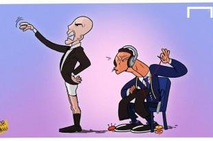 کاریکاتور زیدان