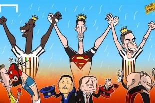 کاریکاتور یوونتوس