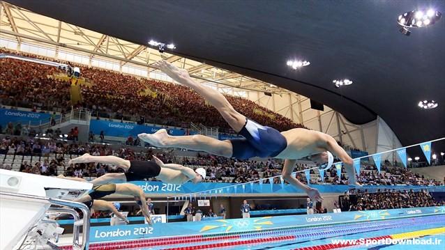 دانلود مسابقات شنا المپیک