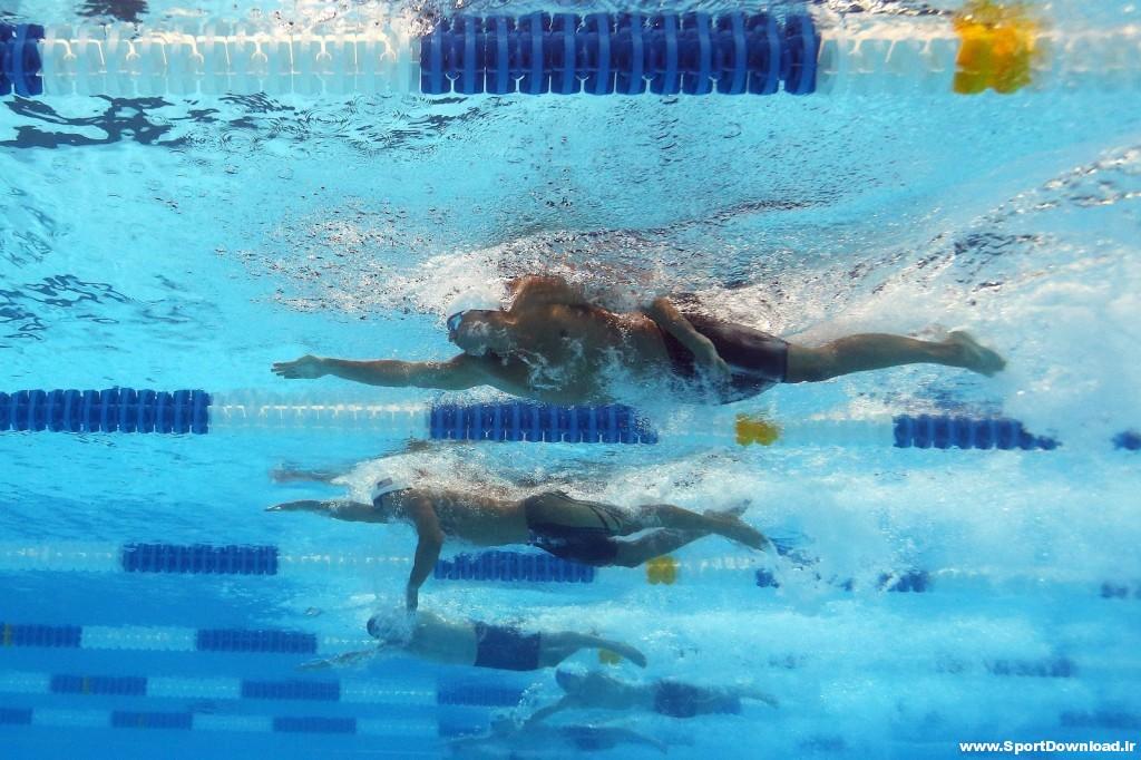 دانلود مسابقه شنا