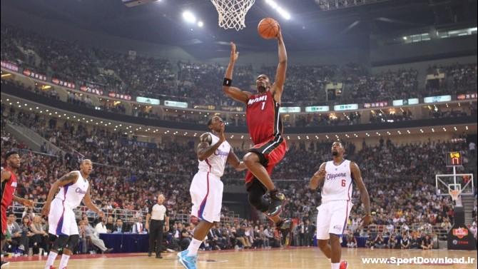 670 heatclippers 121011 دانلود مسابقه بسکتبال پیش فصل NBA میامی و کلیپرز