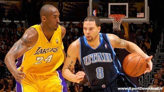 Jazz vs Lakers دانلود مسابقه بسکتبال پیش فصل NBA لیکرز و جاز بازی دوم