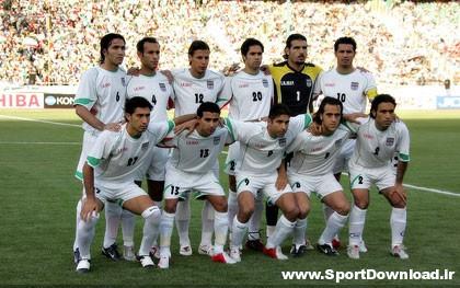 Iranian National Team1 دانلود بازیهای ایران در جام جهانی 2006