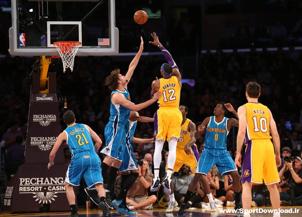 New Orleans Hornets vs Los Angeles Lakers