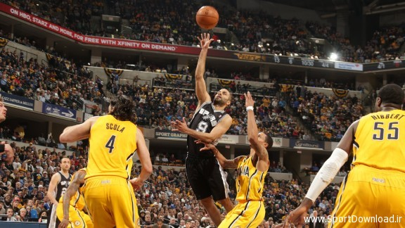 San Antonio Spurs vs Indiana Pacers