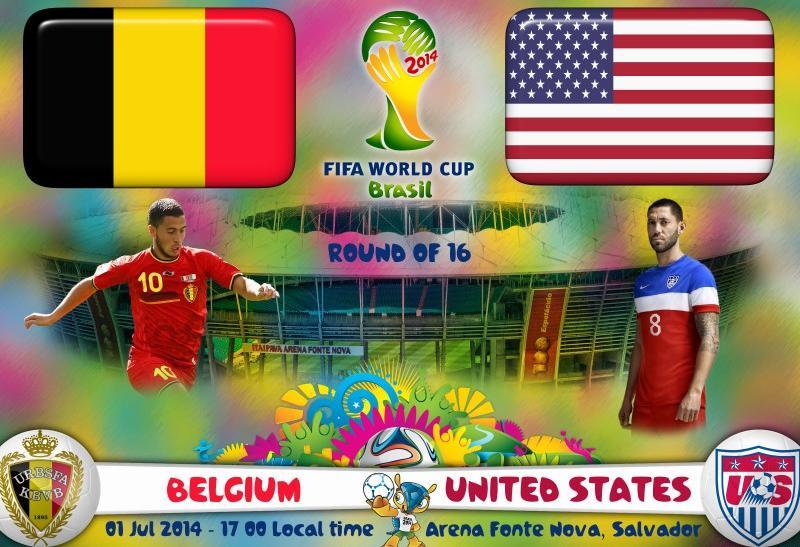 بلژیک آمریکا