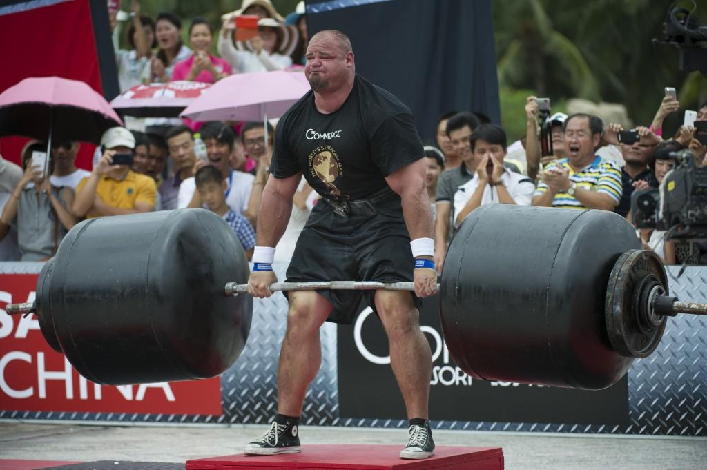 Final Strongest Men 2013