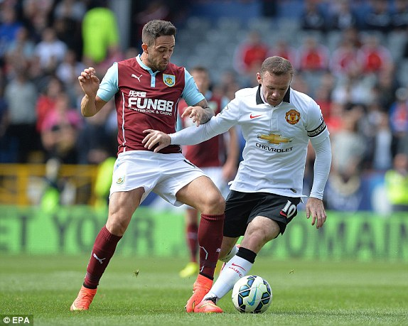 Burnley v Manchester United