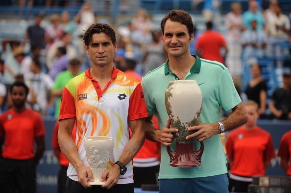 Roger Federer vs David Ferrer