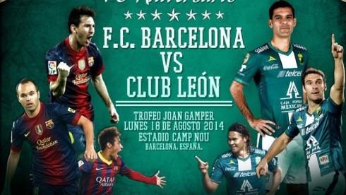 Barcelona v Leon