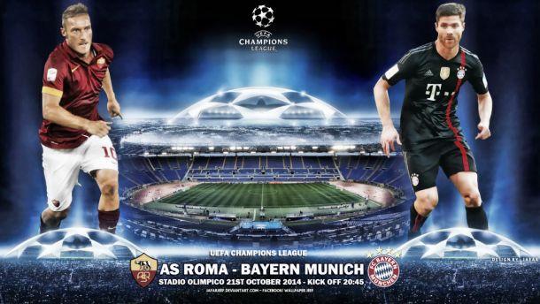 AS Roma v Bayern Munich