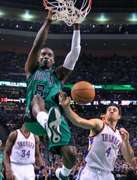 Oklahoma City Thunder vs Boston Celtics
